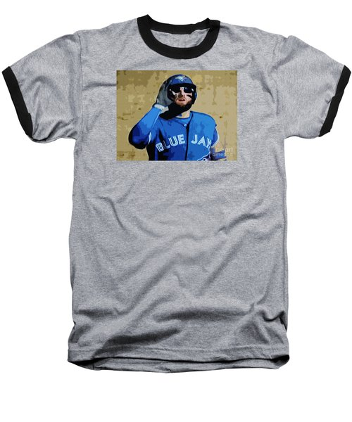 Kevin Pillar Baseball T-Shirt by Nina Silver