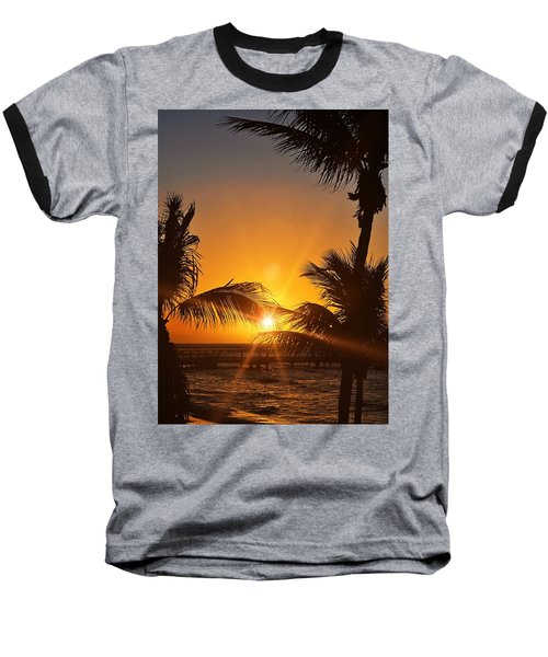 Key Art Baseball T-Shirt by JAMART Photography