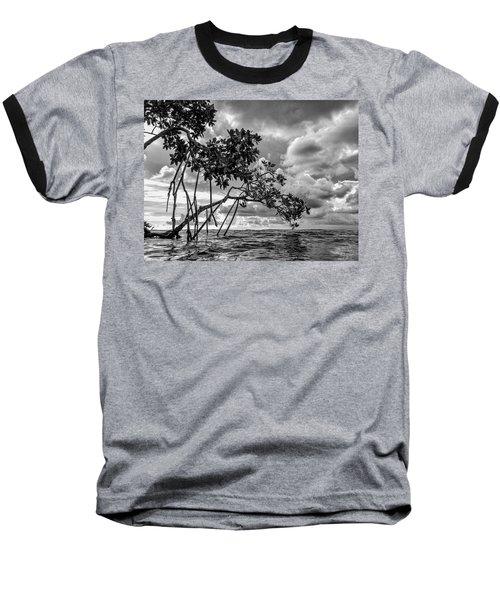 Key Largo Mangroves Baseball T-Shirt