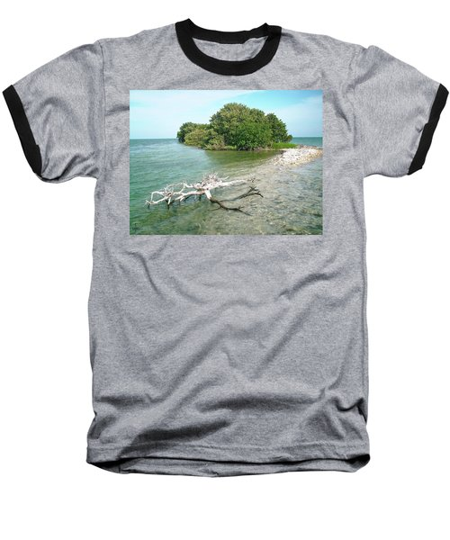 Key Largo Out Island Baseball T-Shirt