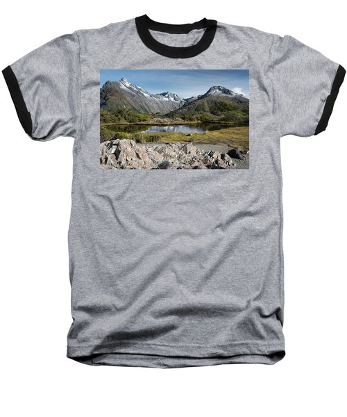 Baseball T-Shirt featuring the photograph Key Summit View by Gary Eason