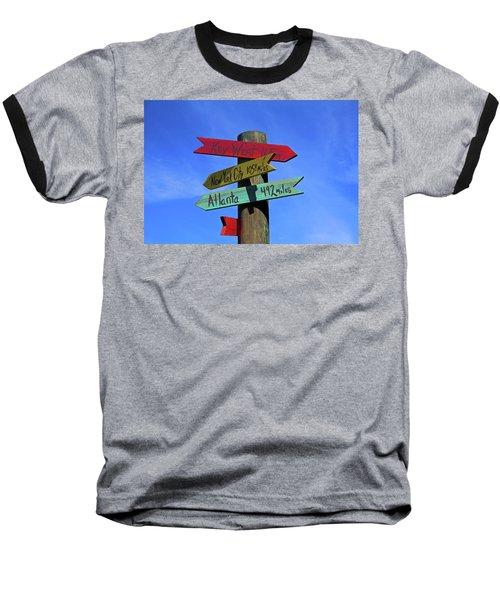 Key West 165 Miles Baseball T-Shirt
