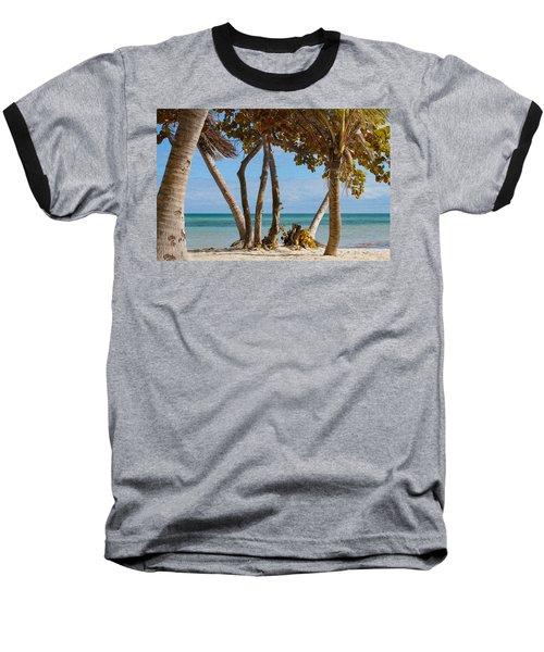 Key West Afternoon Baseball T-Shirt