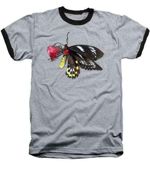 Key West Butterfly 12 Baseball T-Shirt