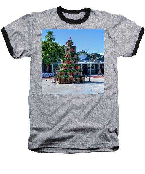 Key West Christmas Baseball T-Shirt