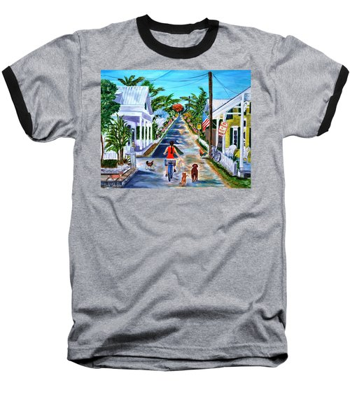 Key West Lane Baseball T-Shirt