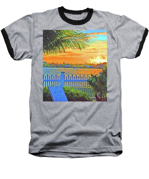 Key West Life Style Baseball T-Shirt