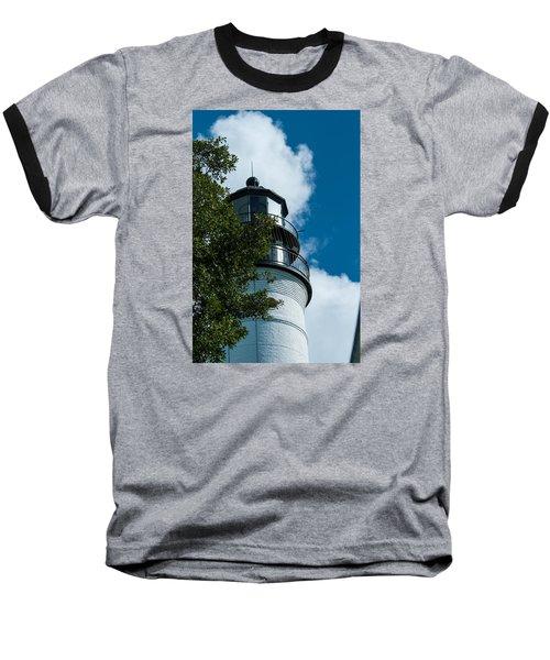Key West Lighthouse Baseball T-Shirt