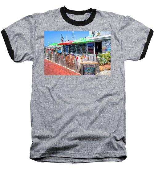 Key West Raw Bar Baseball T-Shirt