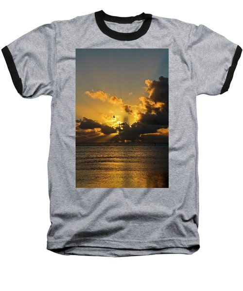 Key West Sunrise 39 Baseball T-Shirt