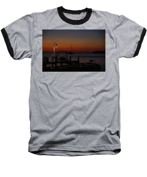Key West Sunset Baseball T-Shirt