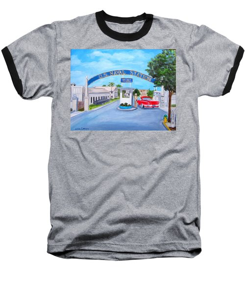 Key West U.s. Naval Station Baseball T-Shirt