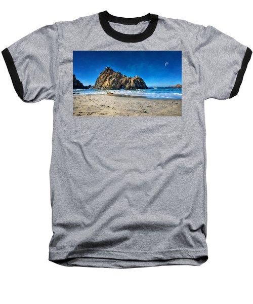 Baseball T-Shirt featuring the photograph Keyhole Rock At Pheiffer Beach #14 - Big Sur, Ca by Jennifer Rondinelli Reilly - Fine Art Photography