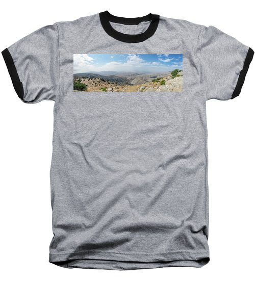 Keys View In Joshua Tree National Park Baseball T-Shirt