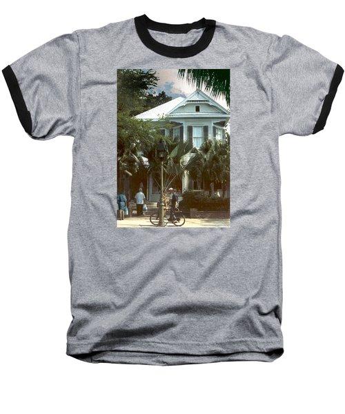 Baseball T-Shirt featuring the photograph Keywest by Steve Karol
