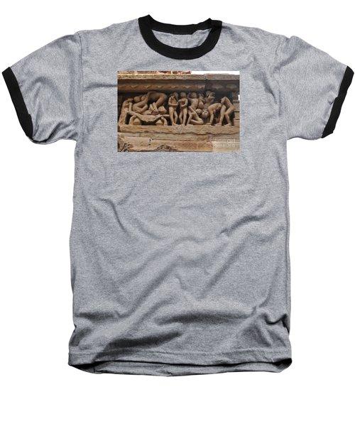 Khajuraho Temples-1 Baseball T-Shirt