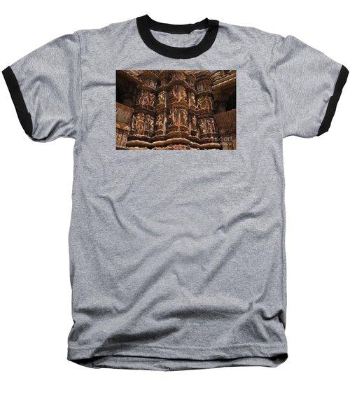 Khajuraho Temples 3 Baseball T-Shirt