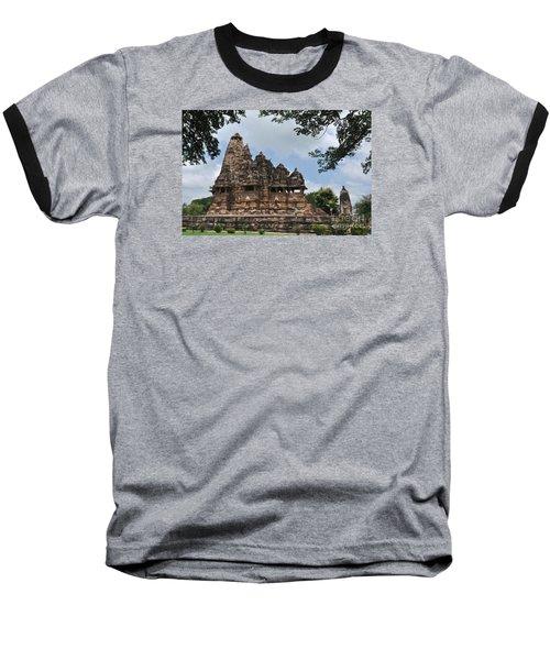 Khajuraho Temples 4 Baseball T-Shirt