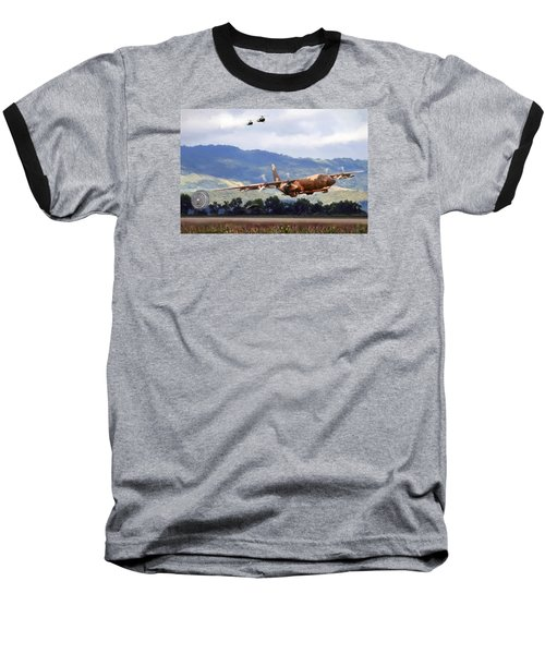 Khe Sanh Lapes C-130a Baseball T-Shirt