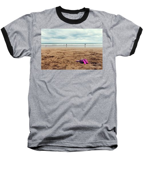 Baseball T-Shirt featuring the photograph Kick Off Your Shoes by Linda Lees