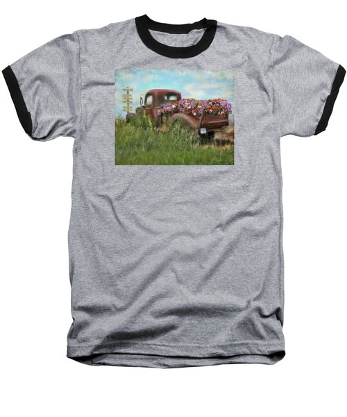 Kicks On Route 66 Baseball T-Shirt by Colleen Taylor