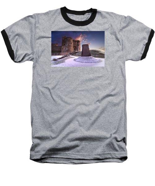 Kidwelly Castle 2 Baseball T-Shirt