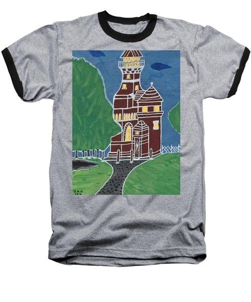 Kiel Germany Lighthouse. Baseball T-Shirt by Jonathon Hansen