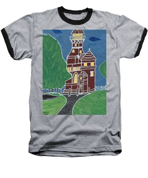 Kiel Germany Lighthouse. Baseball T-Shirt