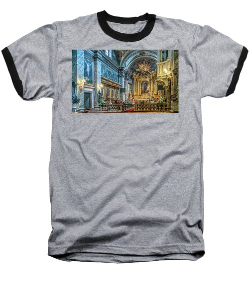 Kielce Cathedral In Poland Baseball T-Shirt