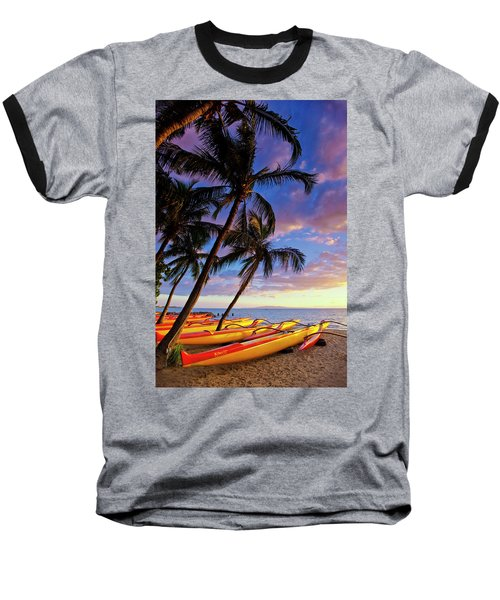 Kihei Canoe Club Baseball T-Shirt