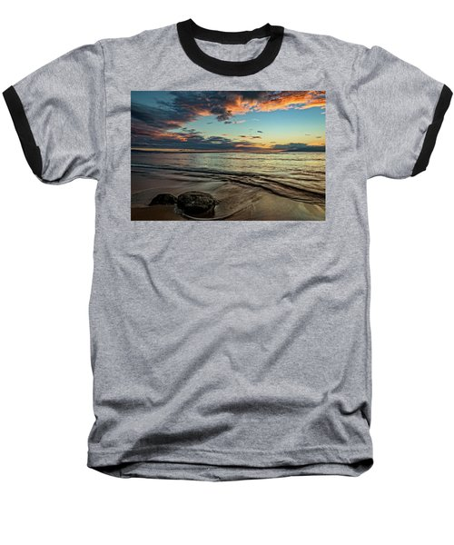 Kihei, Maui Sunset Baseball T-Shirt