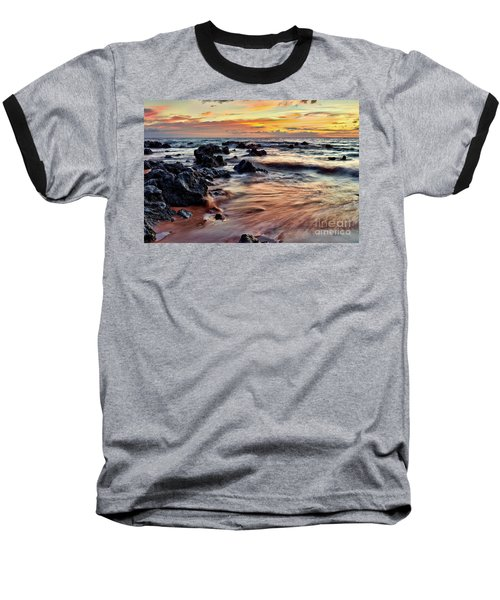 Kihei Sunset Baseball T-Shirt