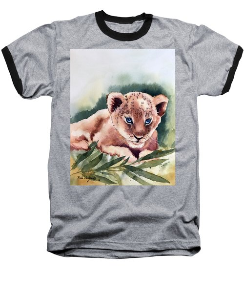 Kijani The Lion Cub Baseball T-Shirt