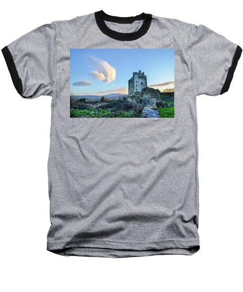 Kilcash Castle Ufo Baseball T-Shirt