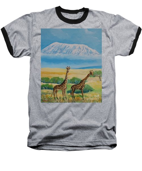 Kilimandjaro Baseball T-Shirt