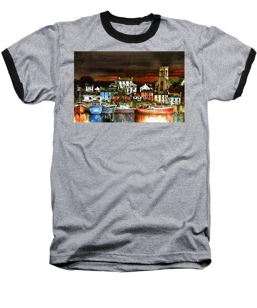Killybegs Harbour, Donegal. Baseball T-Shirt