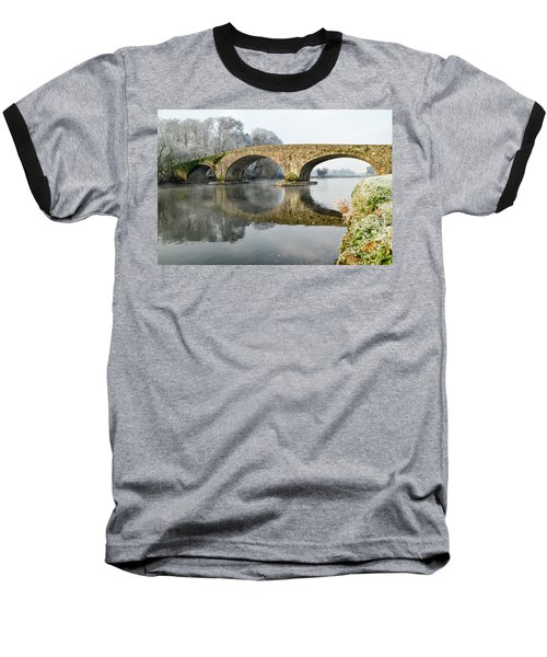 Kilsheelan Bridge In Winter  Baseball T-Shirt