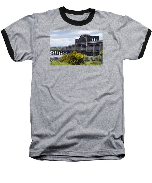 Baseball T-Shirt featuring the photograph Kincardine Bridge by Jeremy Lavender Photography