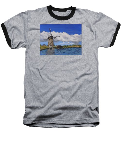 Kinderdijk Baseball T-Shirt