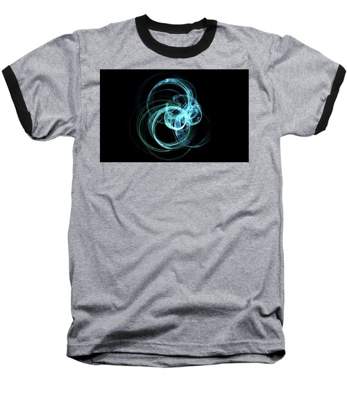 Baseball T-Shirt featuring the digital art Kinetic09 by A Dx