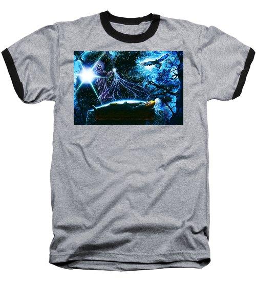King  Arthur's Death Baseball T-Shirt