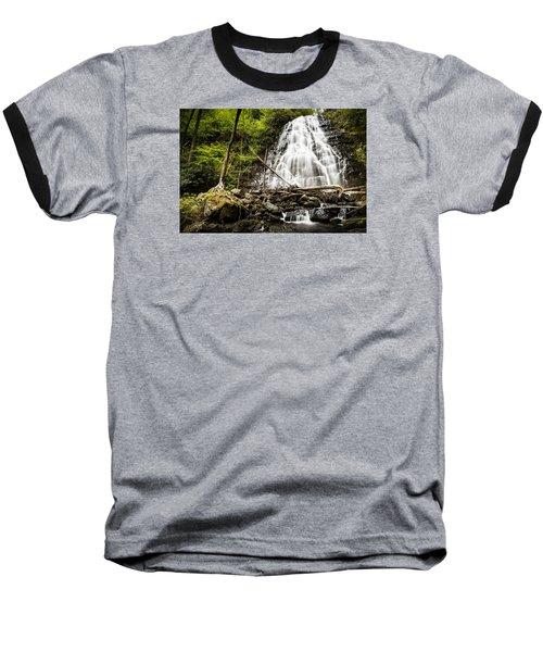 Crabtree Falls - Blue Ridge Parkway North Carolina Baseball T-Shirt