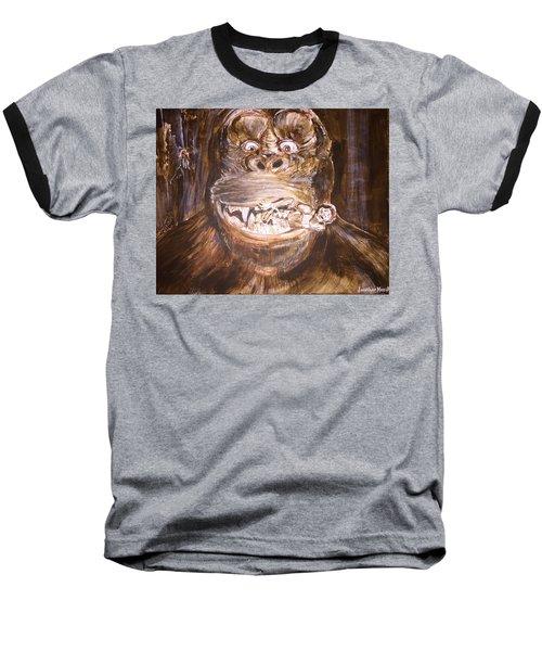 King Kong - Deleted Scene - Kong With Native Baseball T-Shirt