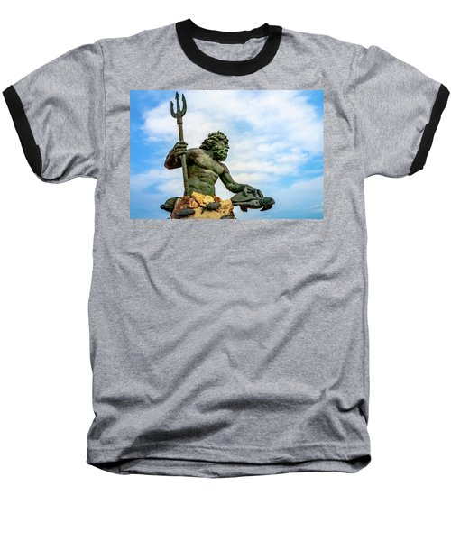 King Neptune Baseball T-Shirt