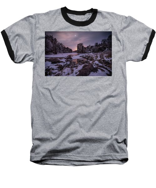 Baseball T-Shirt featuring the photograph King Of Frost by Aaron J Groen