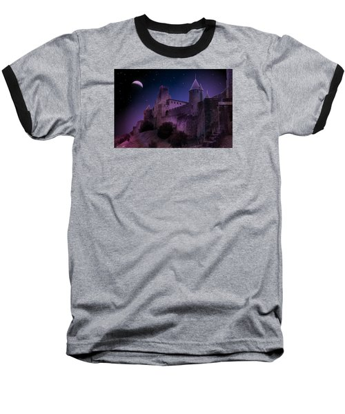Baseball T-Shirt featuring the photograph King Of My Castle by Bernd Hau