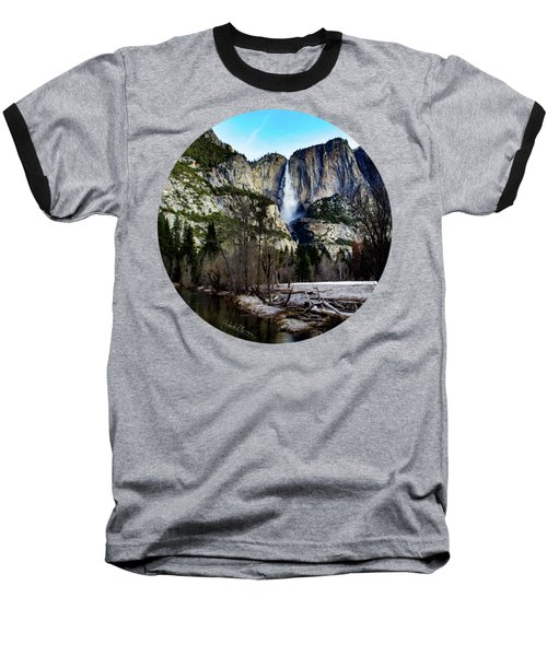 King Of Waterfalls Baseball T-Shirt