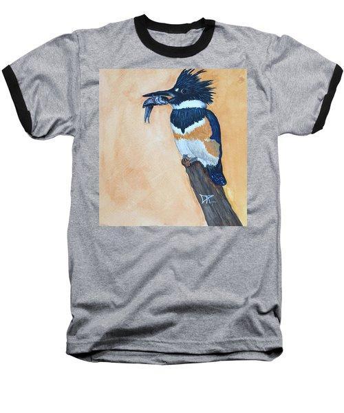 Kingfisher-2 Baseball T-Shirt