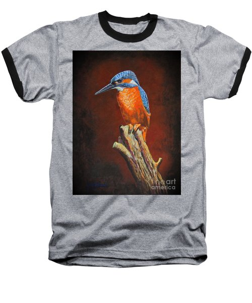 Kingfish.....waiting For Dinner Baseball T-Shirt