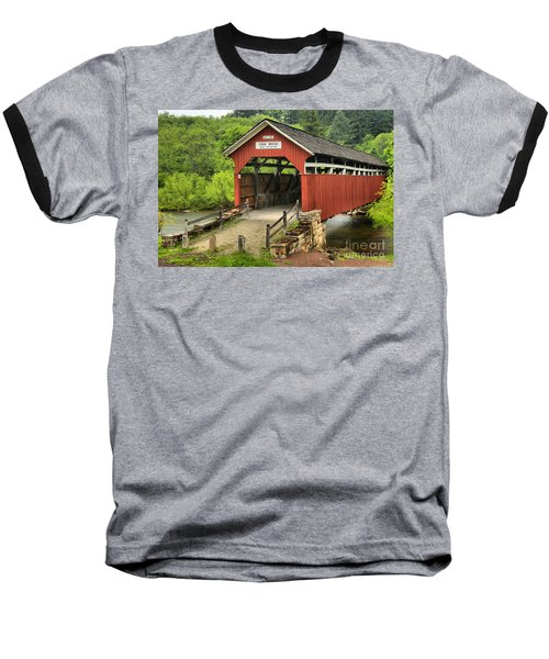 Kings Covered Bridge Somerset Pa Baseball T-Shirt